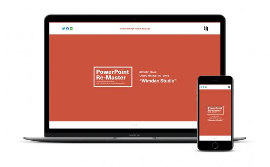 Wimdac Studio / PowerPoint Re-Master